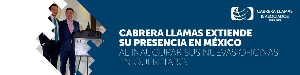 Cabrera Llamas extiende su presencia en México al inaugurar sus nuevas oficinas en Querétaro.